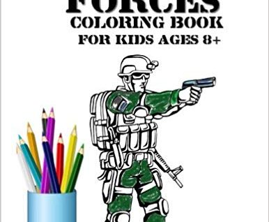 Special Forces Coloring Book For Kids Age 8+: Army, Soldiers, Military