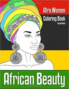 African Beauty - Afro Women Coloring Book