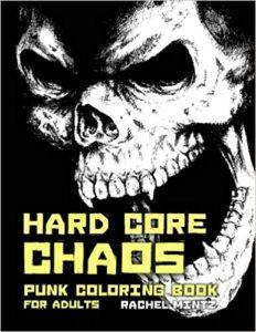 Punk colorig book adults