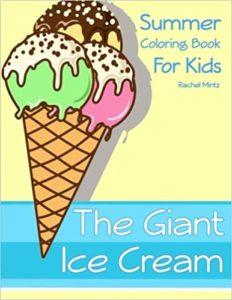 ice cream summer coloring book