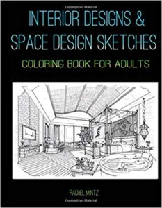 6 Best Interior Designs Architecture Coloring Books Home Of