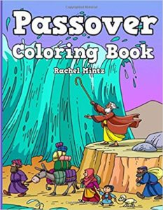 Passover colorng book for kids