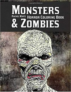 Monsters & Zombies Horror Coloring Book