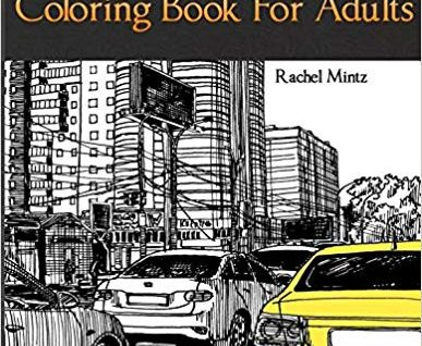 Street & Traffic - Coloring Book for Adults: Casual Urban Life Sketches