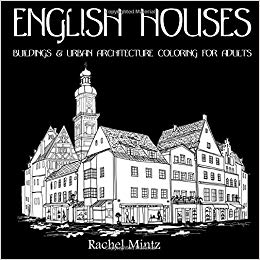 English Houses - Buildings & Urban Architecture Coloring