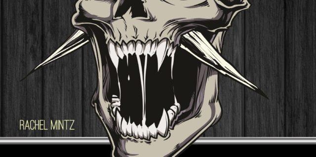 Horrific Skulls coloring book adults