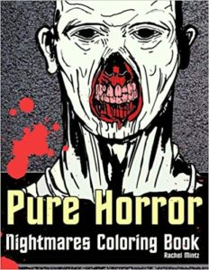 Pure Horror Coloring Book for adults