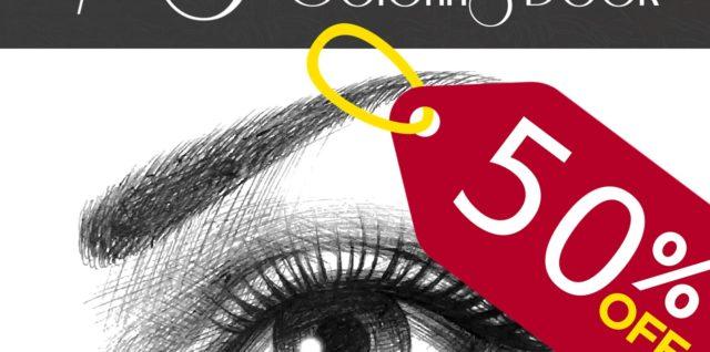 Eyes - Coloring Book: Color 30 Beautiful Women Eye Drawings – Practice Adding Eye Make Up