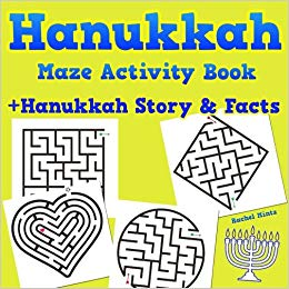 Hanukkah maze book kids gift