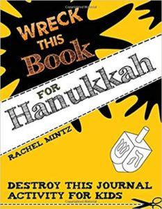 Wreck This Book For Hanukkah Children
