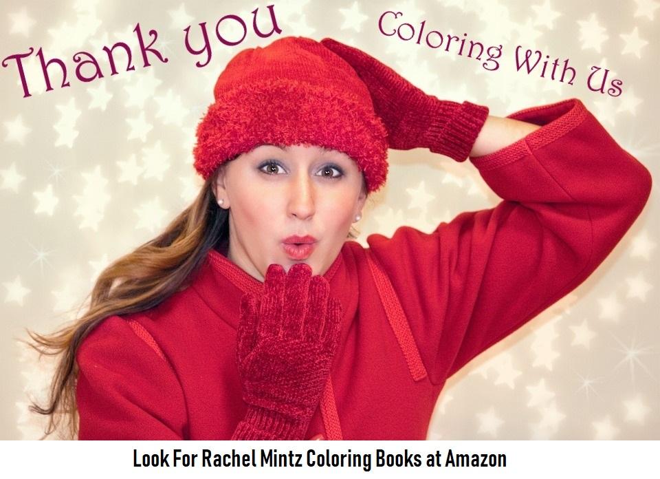 Rachel Mintz Coloring Books