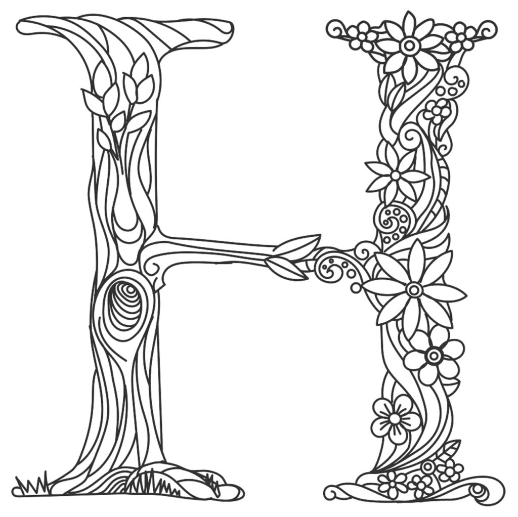 Carved In Wood Coloring Book